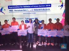 BRI Apresiasi Atlet Bulutangkis Peraih Medali Asian Games