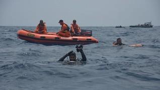 Penyelam TNI AL Temukan Badan Pesawat Lion Air JT-610