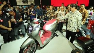 Honda Absen Produk Baru di IMOS 2018