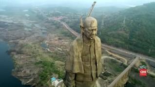 VIDEO: Patung 'Statue of Unity' di India Tertinggi di Dunia