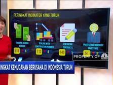 Peringkat Kemudahan Berusaha Indonesia Turun