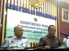 Temuan Kotak Hitam Lion Air JT610, Menhub Tunggu Laporan KNKT