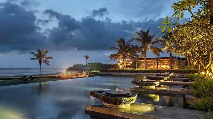 Sepinya kunjungan pariwisata di Bali akibat penyebaran virus corona (Covid-19) berdampak pada lesunya bisnis hotel.
