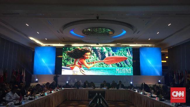 Jokowi Minta Negara Kepulauan Bersikap Seperti Moana