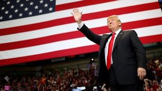 Kampanye Terakhir, Trump Cegah Kekalahan di Pemilu Sela