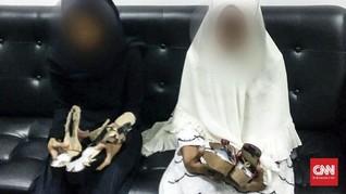 Mertua-Menantu Simpan Sabu 1 Kg dalam Sandal di Kualanamu