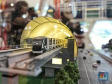 Tutup Tahun 2018, LRT Jabodetabek Baru Kelar Separuh