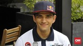 Pebalap Moto3 Jorge Martin tidak panik meski gelar juara dunia bisa ditentukan di GP Malaysia. (CNN Indonesia/Haryanto Tri Wibowo)