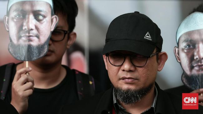 Pegawai KPK Kembali Desak Jokowi Bentuk TGPF Kasus Novel