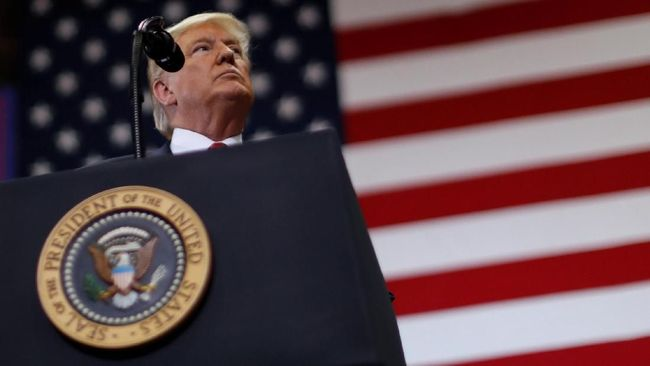 Dana Tembok Perbatasan, Trump Ancam Gunakan 'Kekuasaan'