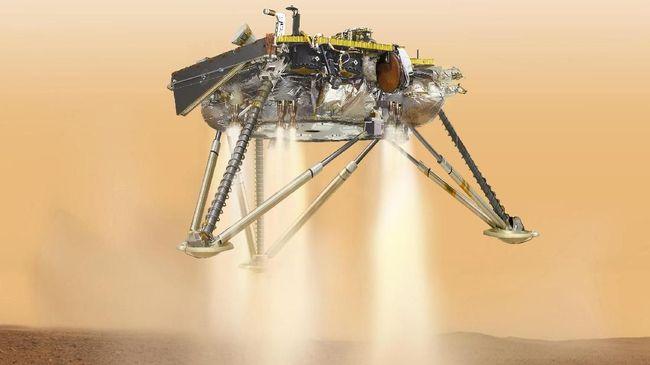 InSight Segera Mendarat di Mars Akhir November