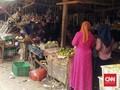 Kasus Positif Pertama Corona, Pasar Wanaraja Garut Ditutup