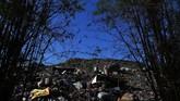 Saat ini TPA Benowo dikenal sebagai pembangkit listrik tenaga sampah (PLTSa). (ANTARA FOTO/Zabur Karuru)