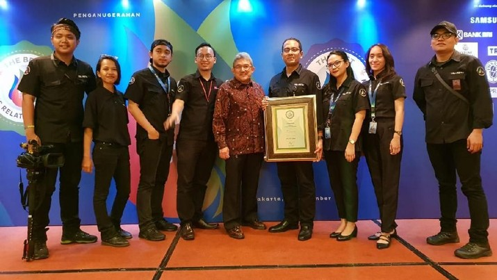 Transmedia melalui program Transmedia Connected meraih predikat Best of The Best Owned Media 2018 kategori Owned Media.