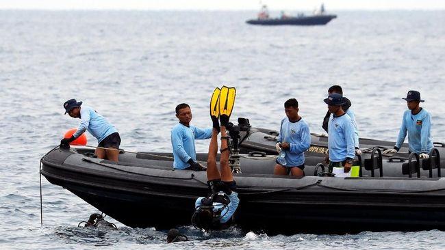 Puing Lion Air Berserakan dalam Radius 25 Meter di Dasar Laut