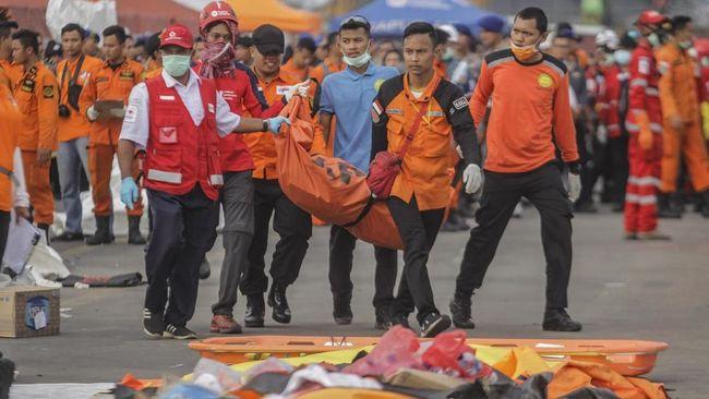 Korban Lion Air PK-LQP yang Teridentifikasi Mencapai 85 Orang