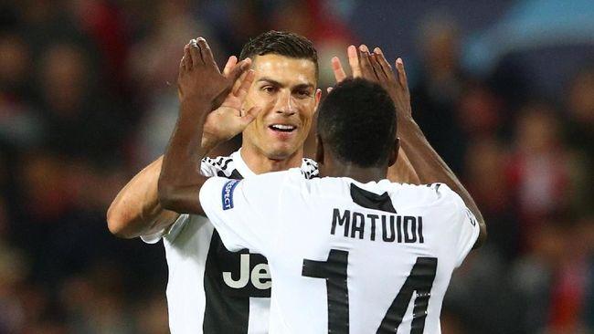 Matuidi: Kami Merasa Kuat Jika Bermain Bersama Ronaldo