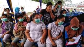 Ratusan Warga Palembang Terpapar Gas Amonia PT Pusri