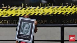 FOTO: Aksi Protes Ekskusi Mati TKI Tuti Tursilawati