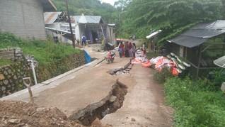 LIPI: Curah Hujan Tinggi Bisa Sebabkan Pergerakan Tanah