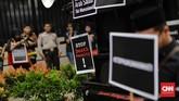 Tuti Tursilawati mengakhiri hidupnya di depan algojo eksekutor Senin (29/10) lalu. Eksekusi dilaksanakan tanpa ada pemberitahuan lebih dulu pada Pemerintah RI. (CNN Indonesia/Adhi Wicaksono)