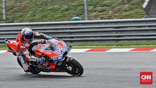 Dua Pebalap Ducati Belum Maksimal Jalani Tes MotoGP Valencia