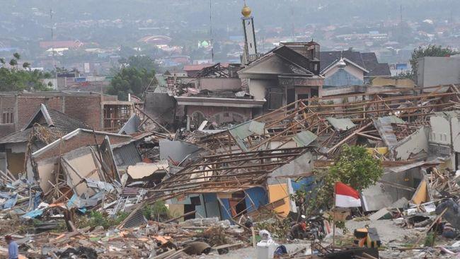 Total Klaim Bencana Gempa Palu dan Lombok Rp1,17 Triliun