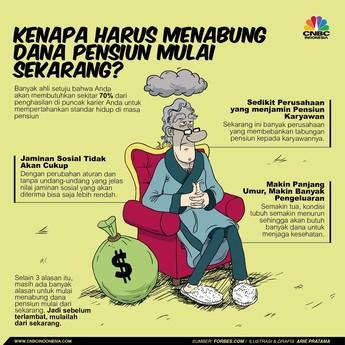 Ini Alasan Mengapa Harus Tabung untuk Pensiun Sejak Dini