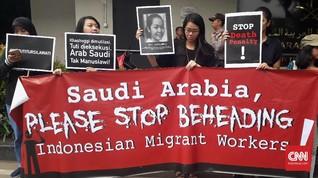 TKI Tuti Dieksekusi Mati, Aktivis Geruduk Kedubes Arab Saudi