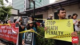 Tuti dinilai tak pantas menerima hukuman mati karena ia juga sebagai korban kriminalisasi. (CNN Indonesia/Adhi Wicaksono)