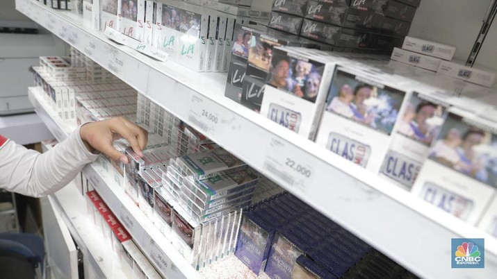 Pada awal perdagangan hari ini saham rokok sempat ramai ditransaksikan.