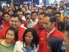 Jokowi Heran Pabrik Mebelnya Kalah dari Sang Pisang Kaesang