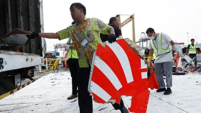 KNKT Belum Berani Simpulkan Airspeed Rusak Bikin JT610 Jatuh