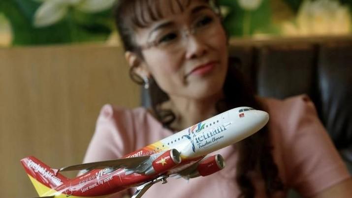 Wanita Terkaya se-ASEAN Ini Beli 50 Pesawat Airbus