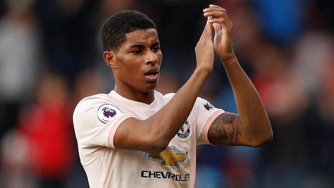 Statistik Apik Rashford Usai Man United Kalahkan Bournemouth