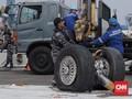 KNKT: Roda Lion Air yang Ditemukan Pendarat Bagian Belakang