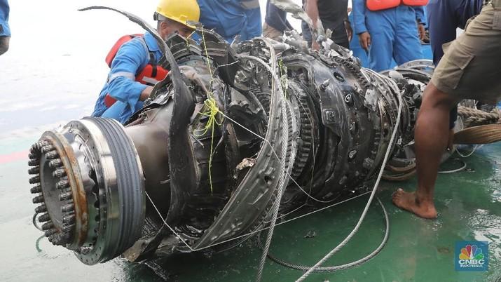 Lion Air JT-610 jatuh di perairan Karawang pada 29 Oktober 2018.