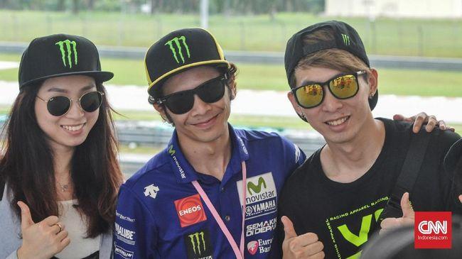 'Valentino Rossi Palsu' Jadi Rebutan di MotoGP Malaysia