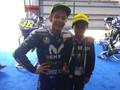 Komentator Cilik MotoGP Indonesia Bertemu Valentino Rossi