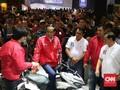 Jokowi Pamer Ekspor Motor Capai 600 Ribu Unit