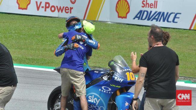 Duka di Tengah Kebahagiaan Valentino Rossi