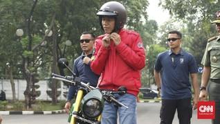 Galang Dana, Jokowi akan Lelang Motor dan Gitar di Surabaya
