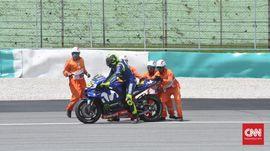 Lorenzo Komentari Rossi yang Terjatuh di MotoGP Sepang