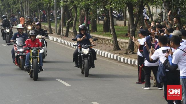 Alasan Lampu Motor Jokowi Tak Menyala