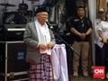 Ma'ruf Amin Rapat MUI, Sandiaga Keliling Palembang
