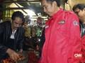 Celetukan Pedagang Asli Boyolali Kepada Jokowi di Pasar Anyar