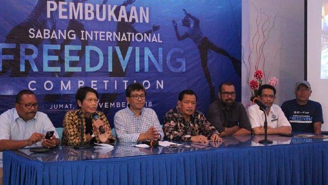 Kompetisi Freediving Ditaksir Datangkan Miliaran Rupiah