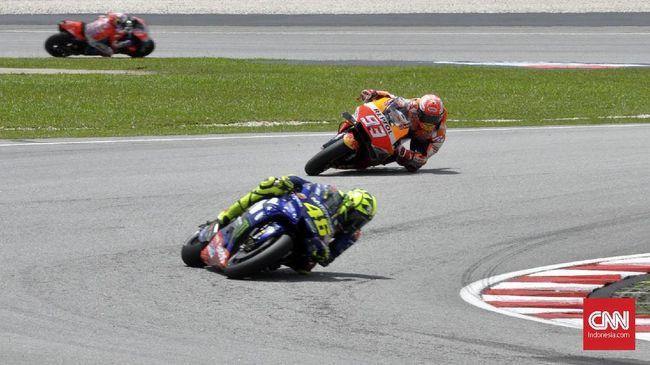 Marquez Berani Kejar Rossi karena Status Juara Dunia MotoGP