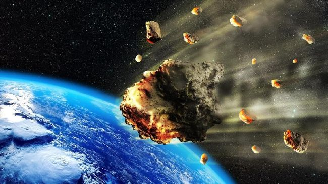 Asteroid Seukuran Bukit Lintasi Bumi 29 April 2020