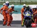 FOTO: Suka Duka Valentino Rossi di MotoGP Malaysia